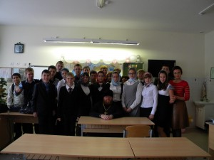 Игумен Фаддей (Шавернев), Быкова О.В. с учащимися